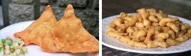best vegetable & chicken samosa in mississauga